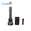 Waterproof searchlight 1000LM TrustFire X9 aluminum Police XML T6 led emergency flashlight,5 modes rechargeable flashlight