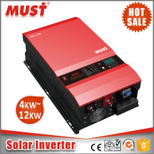 48V DC to AC 220V 120A MPPT charger 10KW solar pump inverter in solar power system