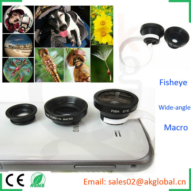 trending hot products mobile accessories phone camera lens kit for samsung galaxy s5 iphone 6 plus
