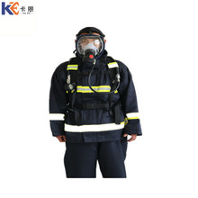 Security carton package firefighting protective suit for sale