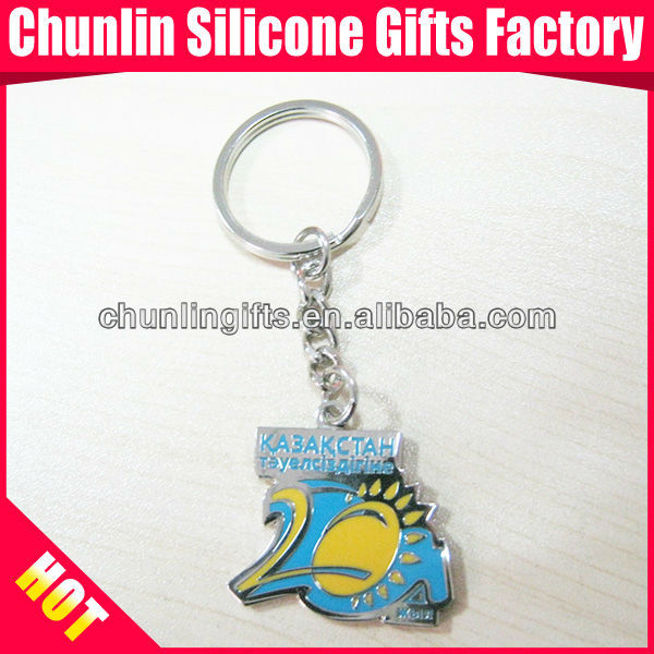 Hot Sell lovely Custom Metal Keychain for Enterprises