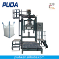 Automatic dry mix mortar bulk bag packing machine
