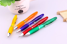 school & office supplies good quality low price multi functional promotional ball pen with colorful highlighter