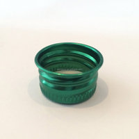 Wholesale small aluminum screw caps for liquor bottles
