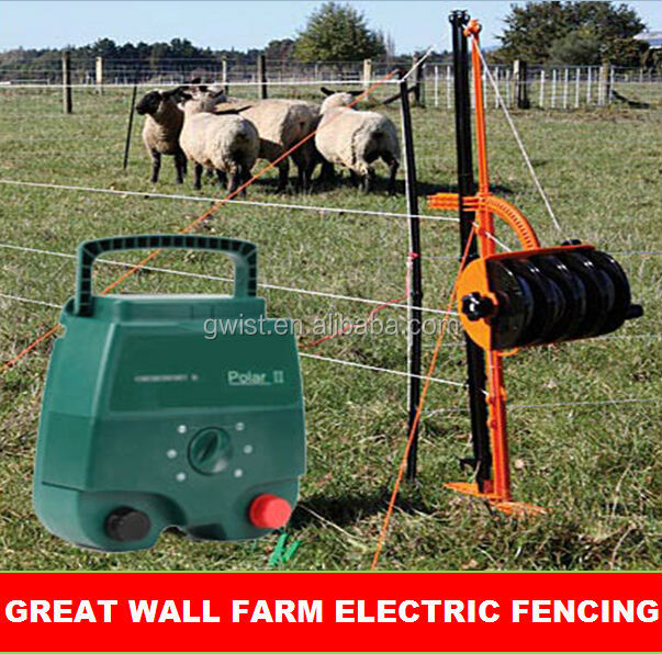 Electric fence energizer charger livestock cow control