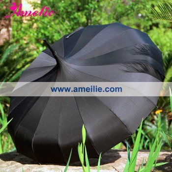 Large Indian Sun Pagoda Shape Umbrella Outdoor
