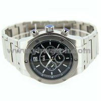 Commercial style business waterproof japan mov't stainless steel watch