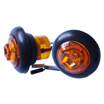 "12V SAE AMBER 3/4"" LED SIDE MARKER AND CLEARANCE LIGHT (20-0736)"
