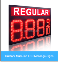 best selling 8.889/10 REGULAR LED GAS PRICE SIGN