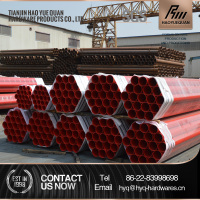 oil and gas pipe fitting ms square pvc red plastic water pipe roll