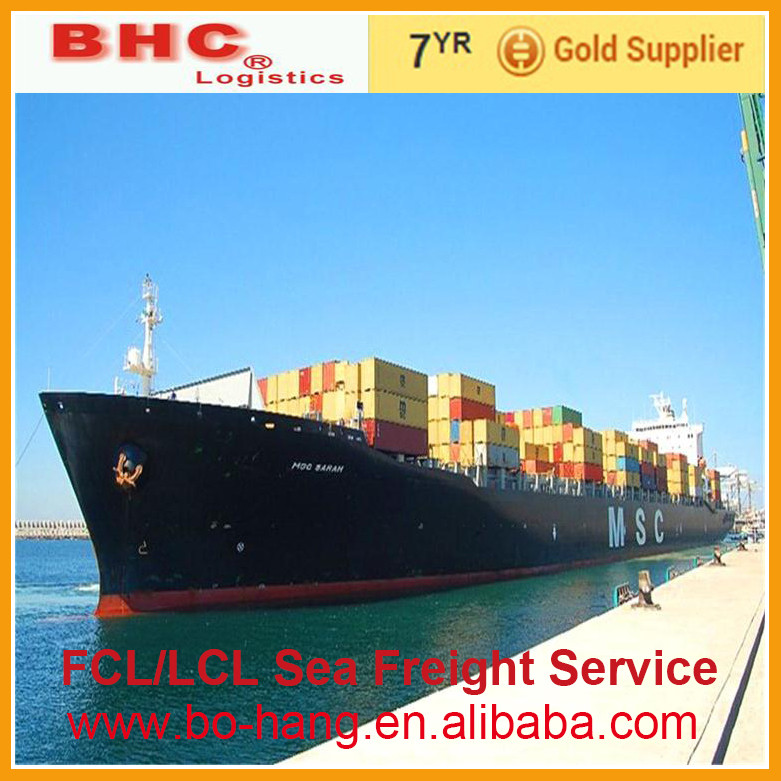 bulk charter ocean freight from China ship by sea freight , LCL, FCL