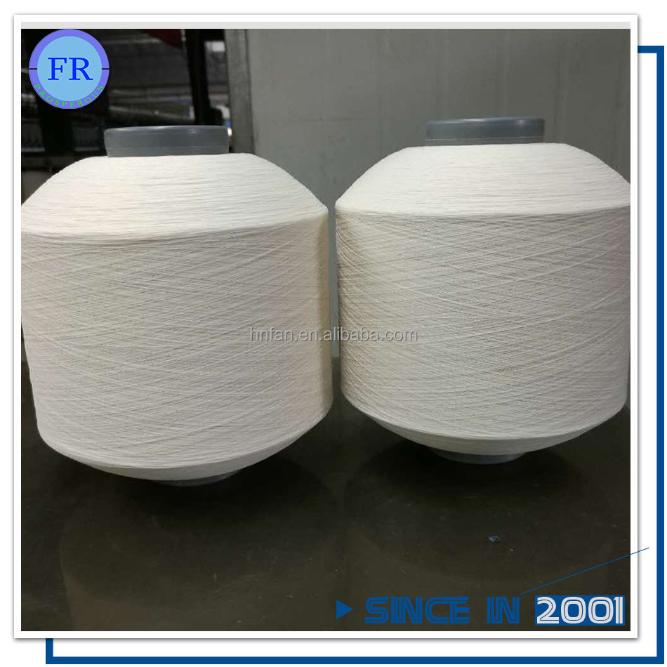 Cheap polyester viscose blended double twist yarn For Make high-end fabrics