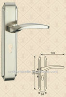 Handle level lock double latch door lock