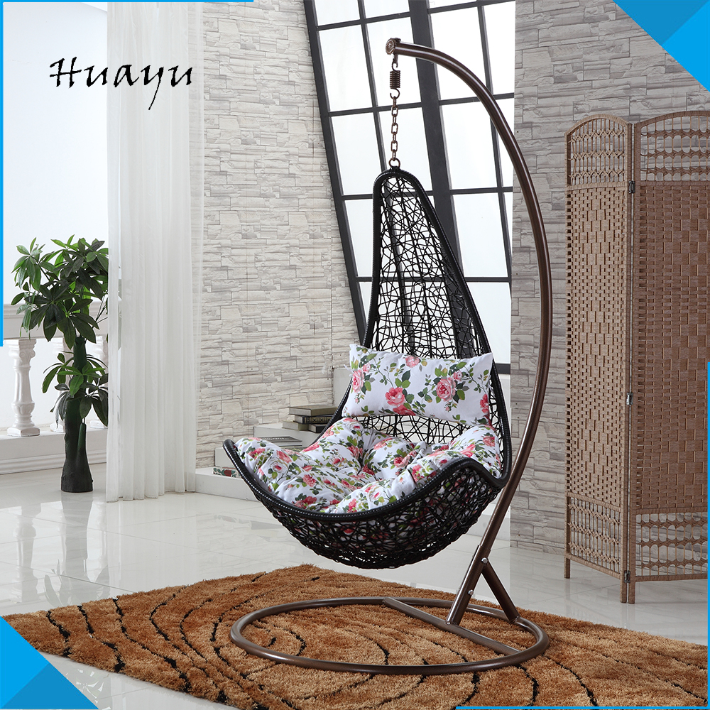 China black rattan kniting garden greenhouse stick metal outdoor wooden indoor swing sets for adults with wood frame