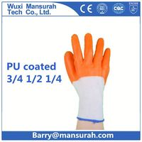 POWERTY PU coating gardening gloves with 13G polyester liner
