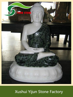 High Quality Large Marble Sculpture Hand Carved Natural Stone Buddha Statue