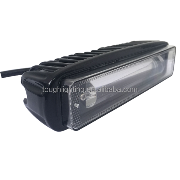 Good Price 6Inch 18W 10-80V Red Blue Led forklift safety light