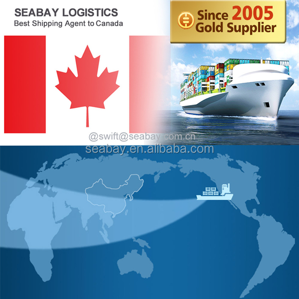 APL/COSCO/MSC/EMC/HYL Shipping Lines Container Shipping China to Canada