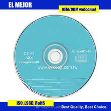 CD-R 52X Excellent Quality OEM Welcome