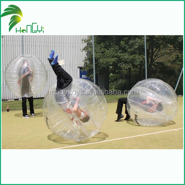 Factory direct sale human bumper ball / human soccer bubble ball / inflatable ball
