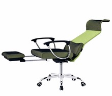 Ergonomic Swivel Nap Sleeping Reclining Office Chair With Footrest