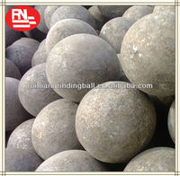 Wear-resistant high impact value 130mm steady quality steel ball