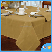 Excellent quality Polyester square tablecloth,Strip cloth design,made in china