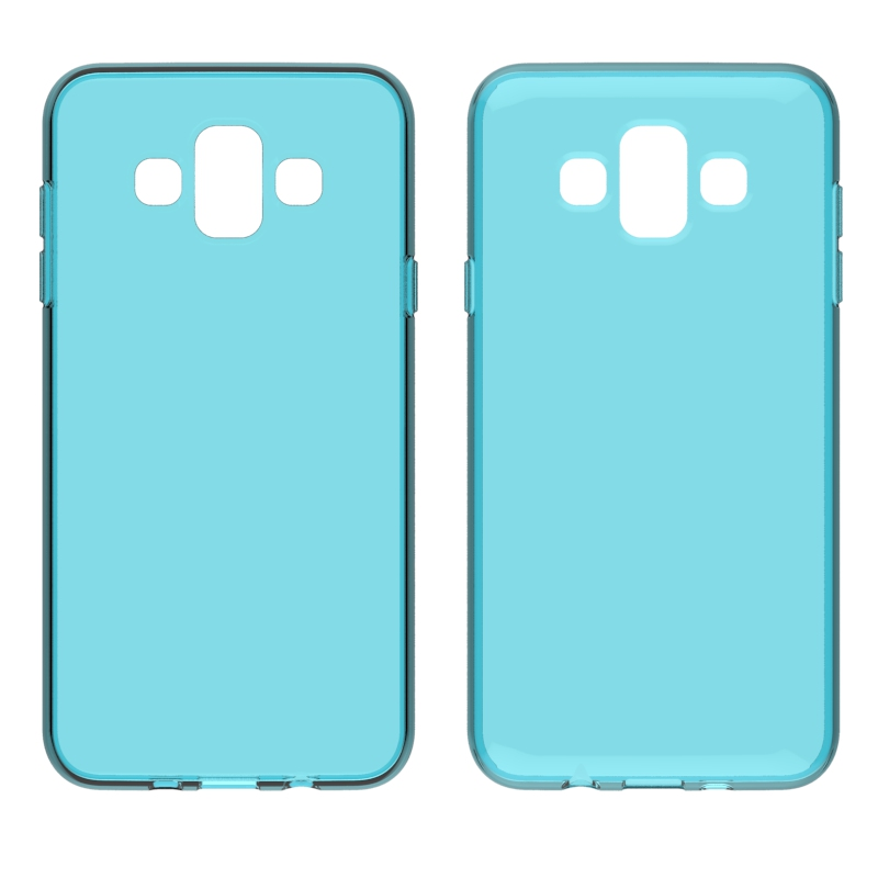 2018 Newest Phone Case For Samsung Galaxy J7 Duo For Samsung Galaxy J7 Duo Mobile Cover  Drop Protective Anti Slip Scratch Resistant Shock Absorption Clear Slim Factory Wholesale Case  Transparent Silicone Clear Bumper Case Cove