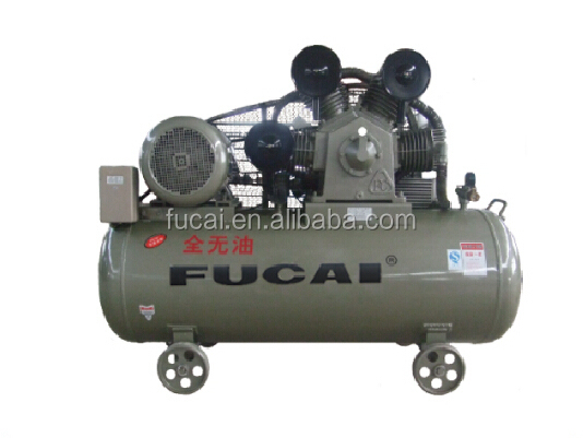 18.5kw 25hp 12bar oil less paper making industrial piston air compressor