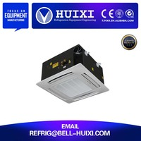 chilled water ceiling cassette type conceal duct fan coil unit
