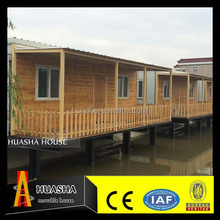 Low cost prefabricated miniature wooden house for sale