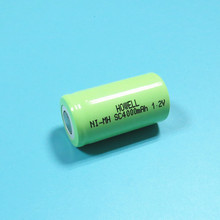 Low Self Discharge 1.2V 4000mAh Ni-MH SC Rechargeable Batteries