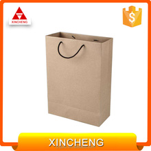 Recyclable high quality pattern paper bag for advertising