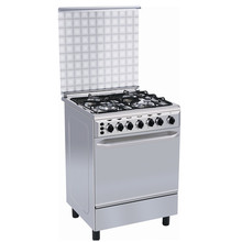 Canton Fair Nigeria freestanding 4 burners Gas Oven with range and griddle, small gas oven, free standing gas cooker oven