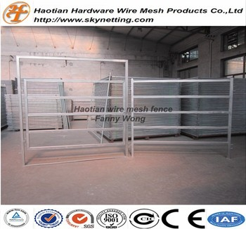 hot dipped galvanized heavy duty pipe frame goat fence livestock fence cattle fence horse fence