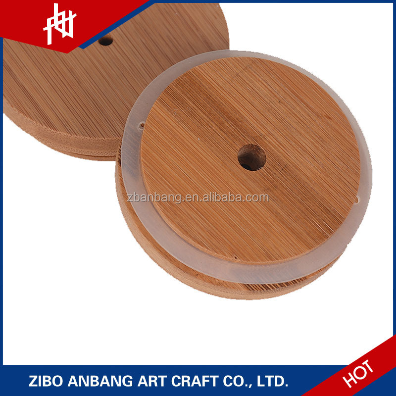 Wholesale reusable lid for wooden candle jar
