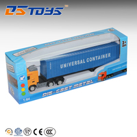 Hot Sale container model truck diecast man truck toy