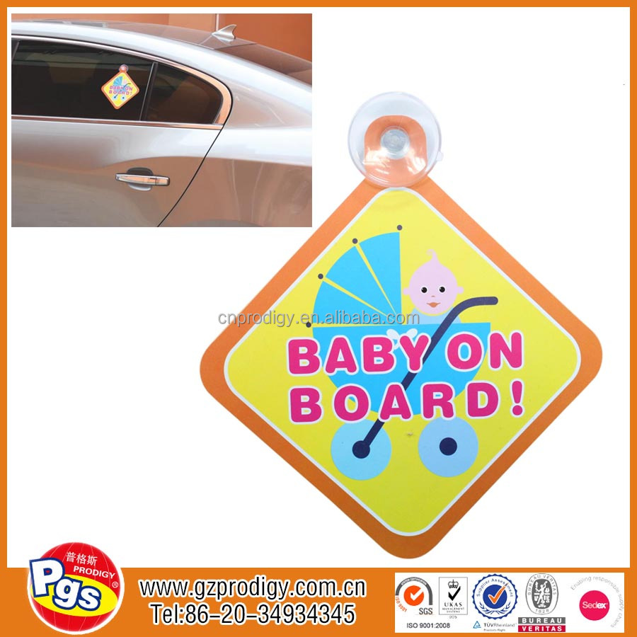 baby on board car stickers child on board car window signs