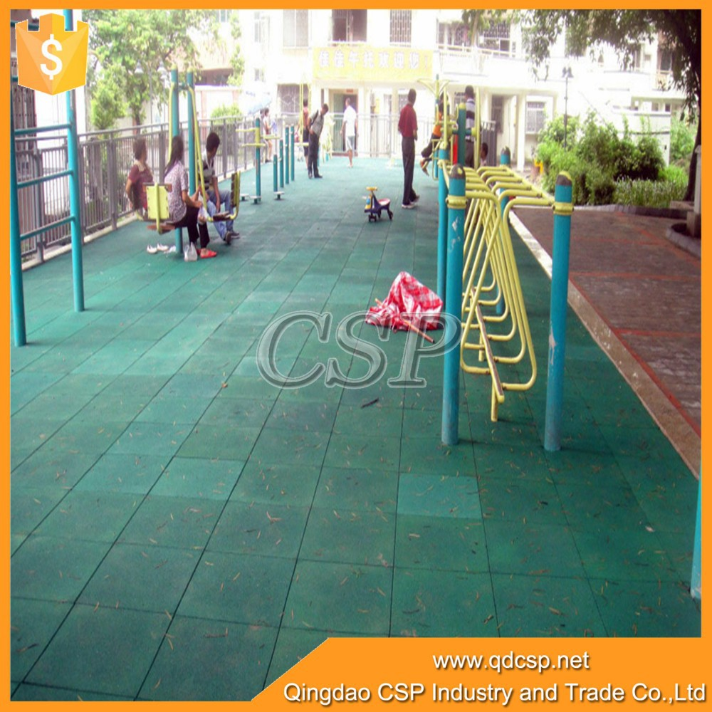 2015 rubber mat outdoor rubber flooring outdoor playground for Outdoor safety flooring