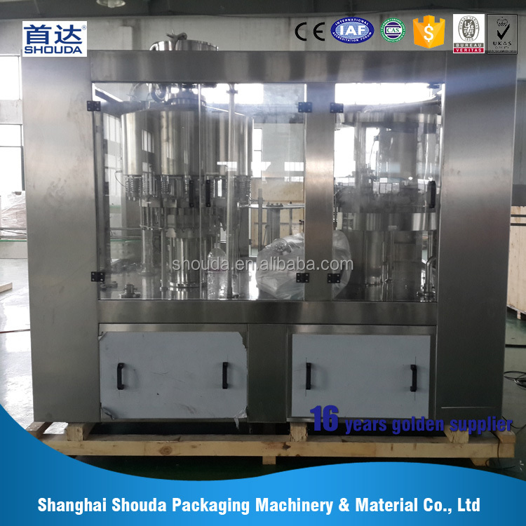 Drink water automatic water bottle filling machine price / equipment / production line