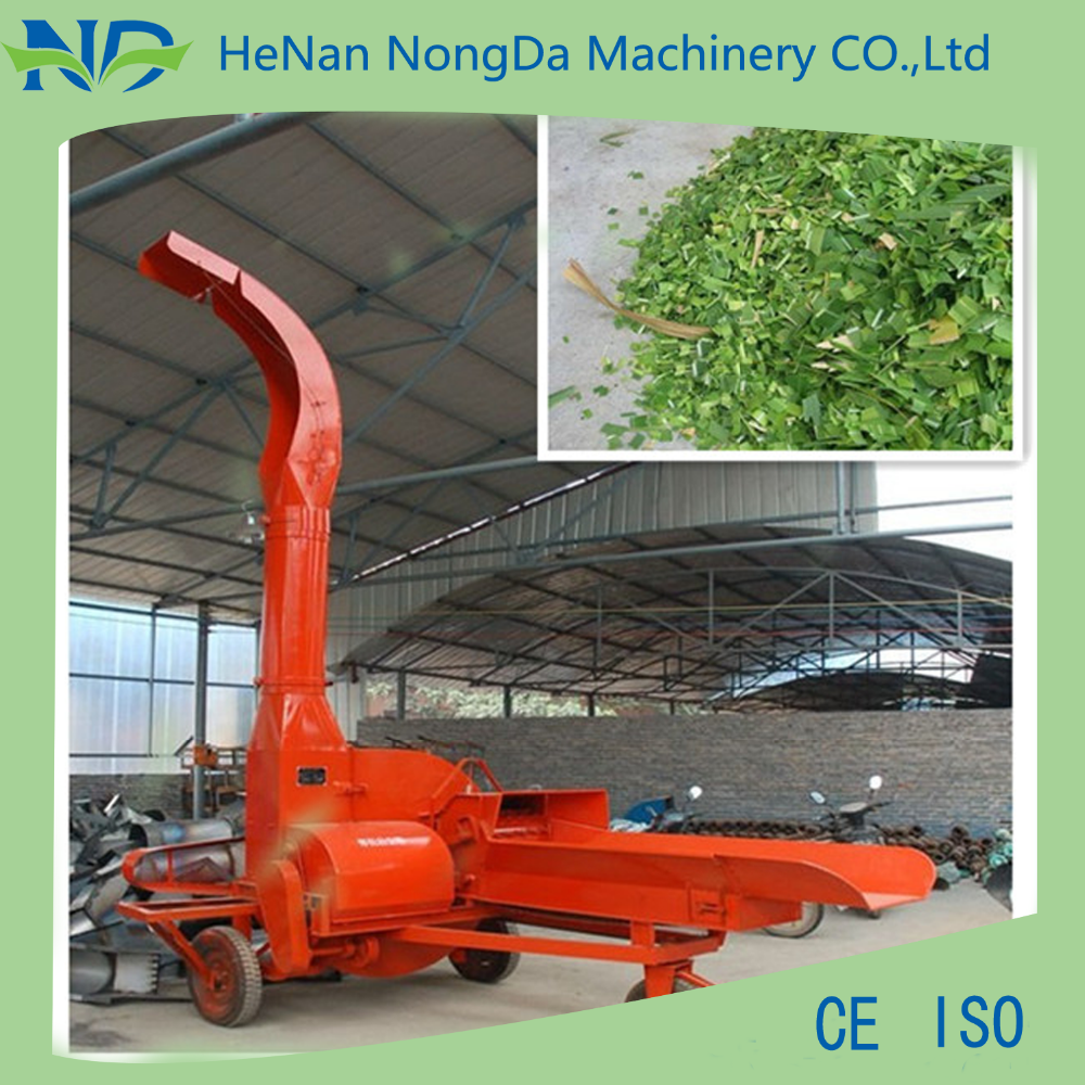 Good quality high efficiency animal feed ensilage grass cutter machine/chaff cutter/hammer mill