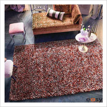 Chinese space dyed colth carpets and rugs