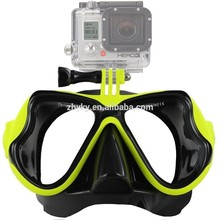 2017 GoPro accessories scuba Diving Mask Mask Diving glasses Diving Mask GoPro Hero general camera small ants