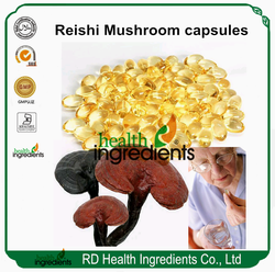 pure reishi extract oil softgels