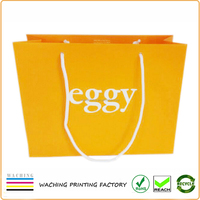 Customized paper bags with handles