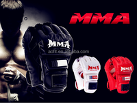 new products gym fingerless mma/ ufc/boxing gloves for fighting/grappling/ batting