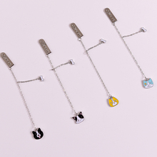 Zinc alloy cute animal pendant gifts bookmark