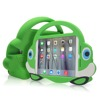 silicone shock proof case for iPad 2/3/4 with back stand kickstand case cover for ipad mini case