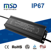 High PFC Constant Voltage IP67 waterproof power supply 30W 40W 45W 50W 60W 70W 80W 90W 100W led driver with CE ROHS SAA TUV UL