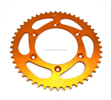 Aluminium Sprockets for Motorcycle YAMAHA YA250 YZ450 WR250 WR450